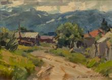 Ovanes Berberian (b.1951) Oil On Panel