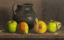 """William Acheff (b.1947) """" Apples And Pears """""""