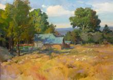 """Ovanes Berberian (b1951) """" Afternoon In Placitas"""""""