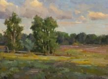 "Ovanes Berberian (b1951) "" Summer Clouds """