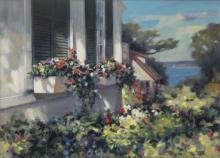 """Paul Landry (1931-2018) """" Window Bouquet """""""