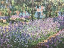 Claude Monet Limited Edition Artagraph Giclee On Canvas
