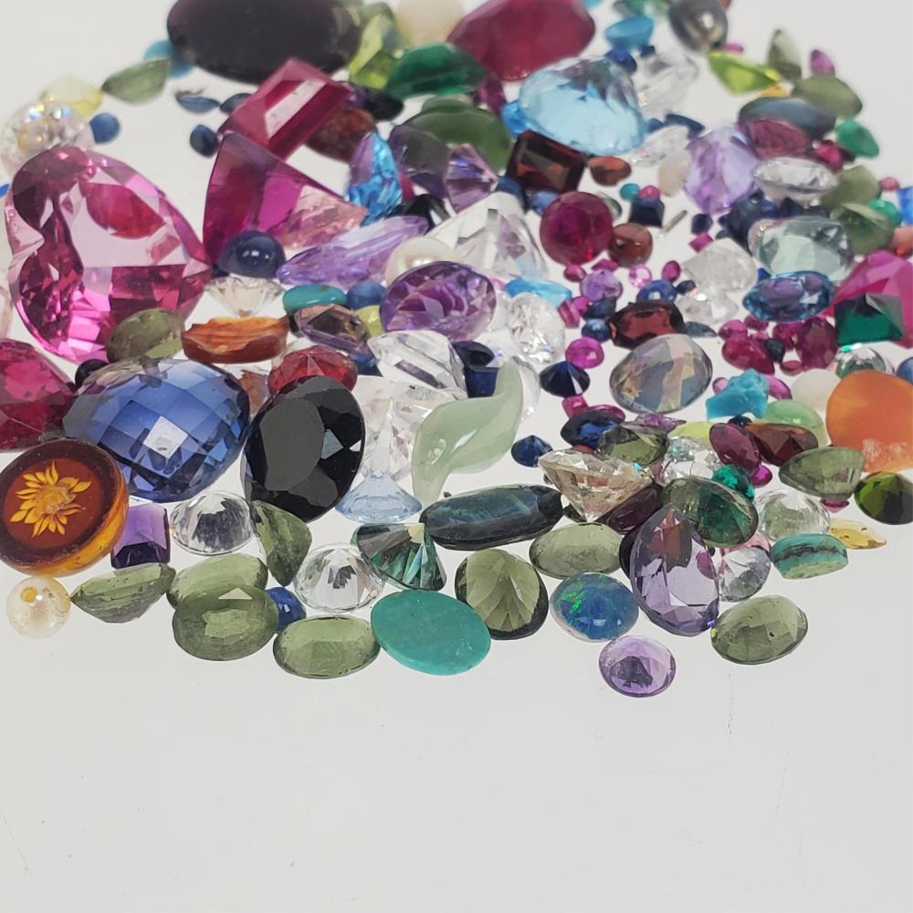 Loose Semi Precious Stones & Cubic Zirconia