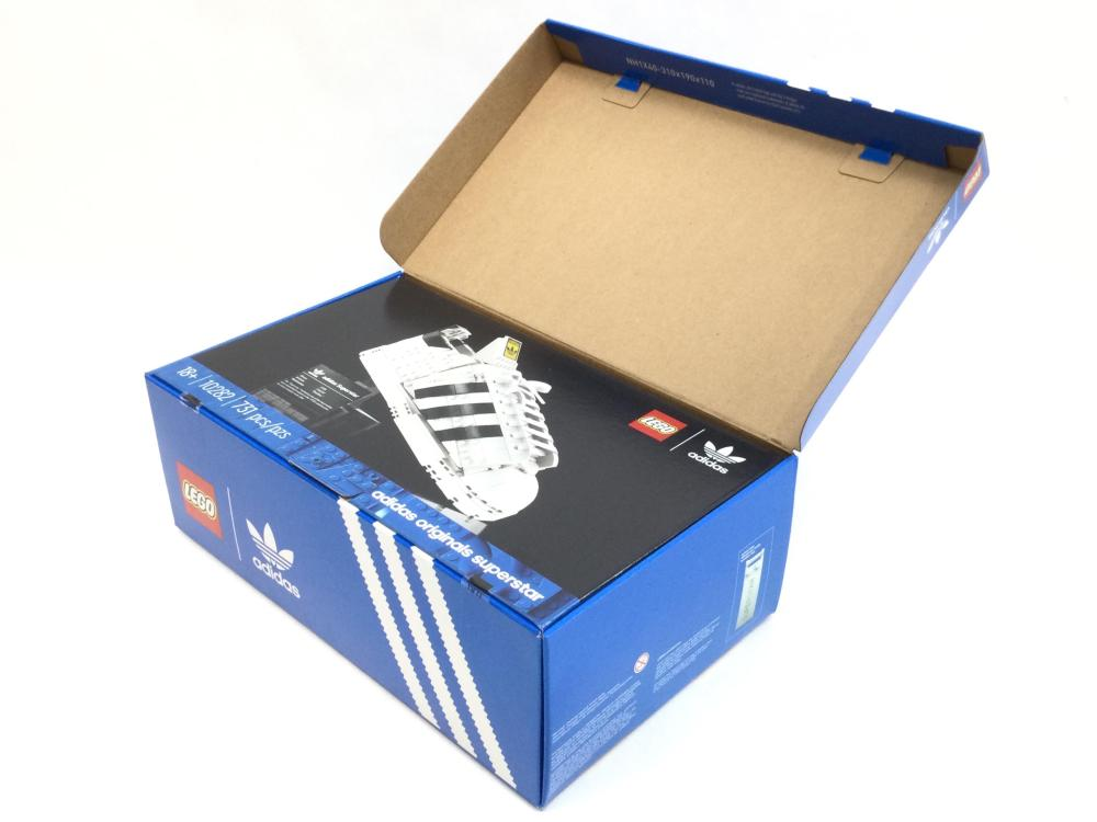 Lego Adidas Original Superstar 731pc Build Set