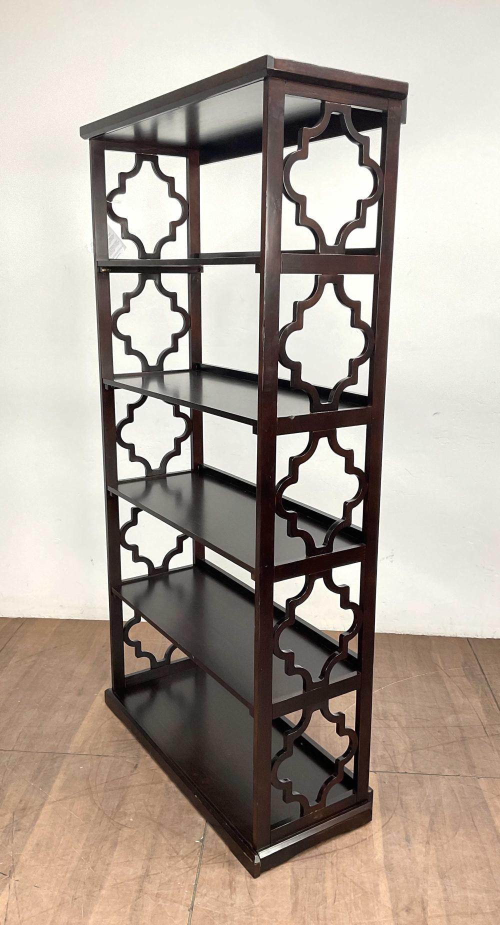 Powell Transitional Style Wood Etagere