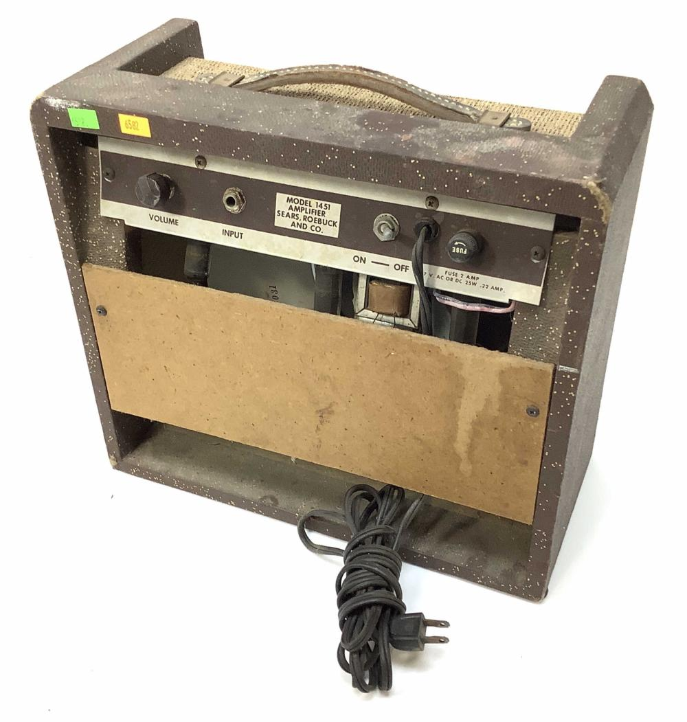 Vintage Silvertone 1451 Tube Guitar Amplifier