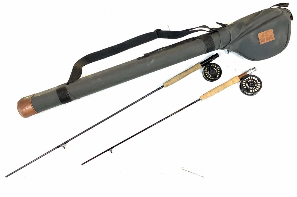 Cabela's Three Forks Rod & Scott Rod w/ Case