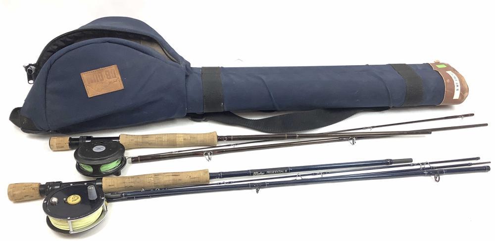 Fisher Fly Rod w/ Reel & Sage Fly Rod w/ Reel