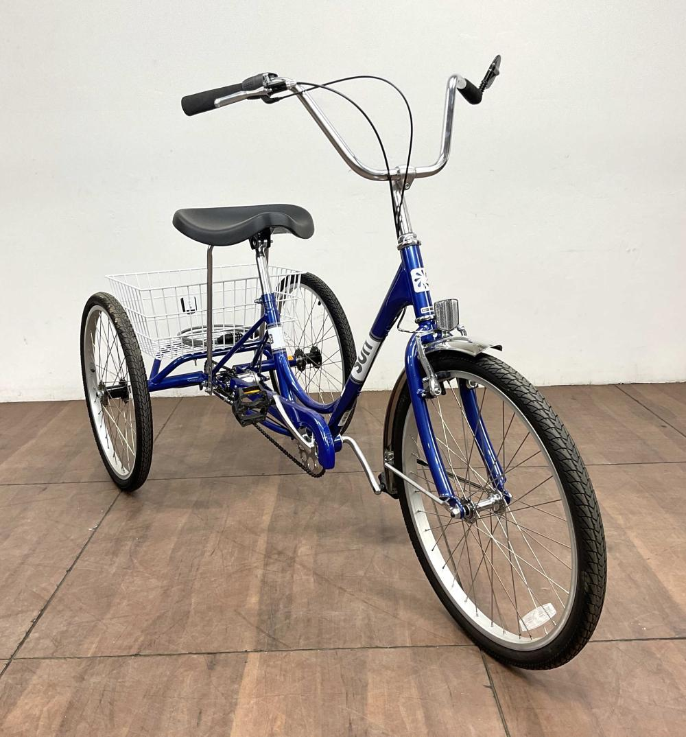 Sun Traditional 3 Wheel 3 Speed Adult Tricycle