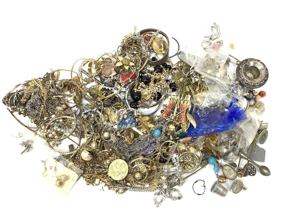 Large Lot Of Fashion Jewelry