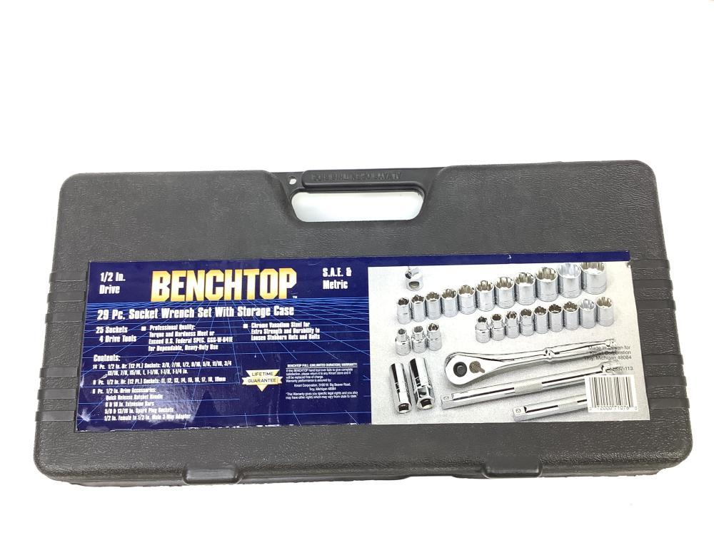 (3) New Bench Top Socket Sets