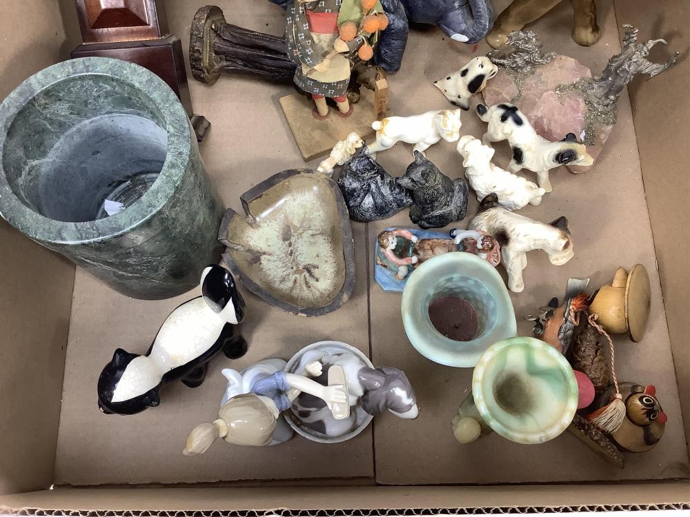 Lladro Figurine, Ceramic Dogs, Knickknacks, Decor