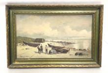 Bror Anders Wikstrom (1854-1909) Oil Painting