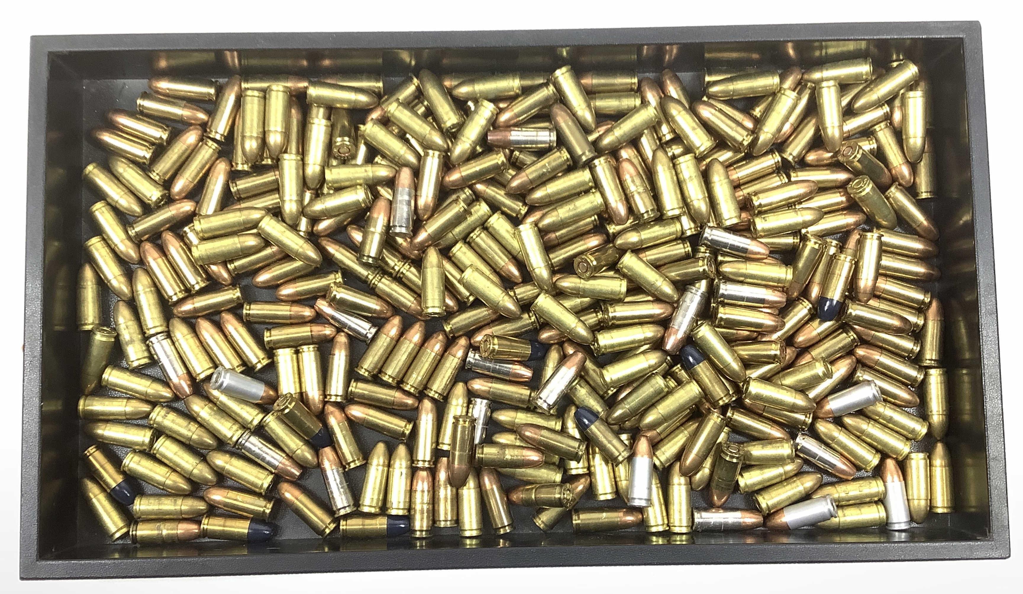 (297) Rds. Miscellaneous 9mm Ammunition