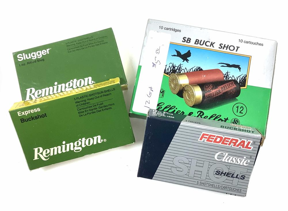 (165) Cartridges 12 Gauge Ammunition