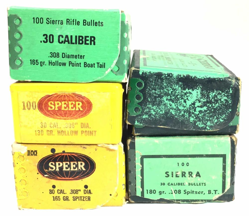 (400+) 30 Caliber Bullets 130-180 Grain