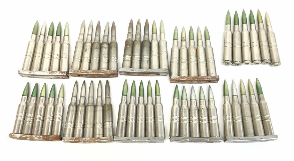 (50) 6.5x55 Swedish Mauser Dummy 69 027 Rounds