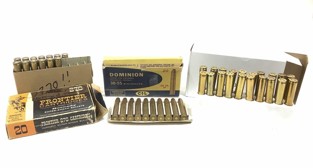 (53) Rds. Assorted Rifle Ammunition