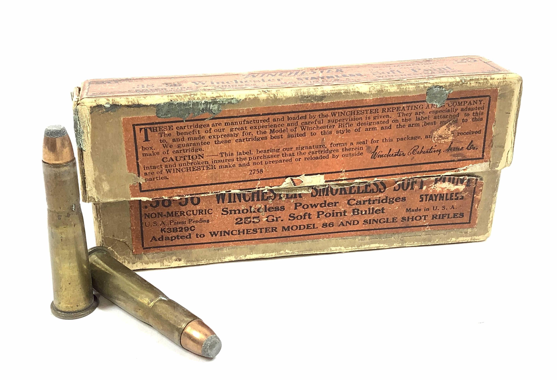 (20) Rds. Winchester .38-56 Soft Point Ammunition
