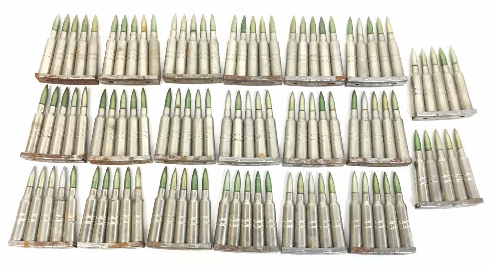 (100) 6.5x55 Swedish Mauser Dummy 69 027 Rounds