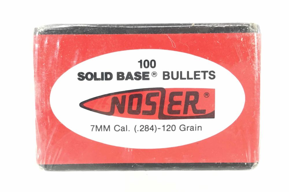 (500) Nosler 7mm 120gr Ballistic Tip Bullets