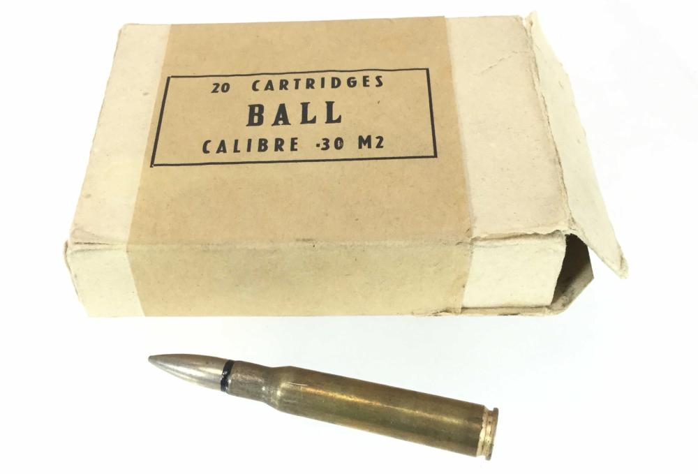 (20) Rounds Of 30 Cal M2 Ammunition