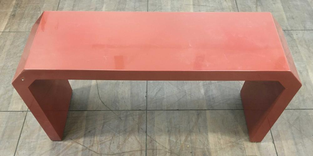 1970's Modern Lacquer Console / Sofa Table