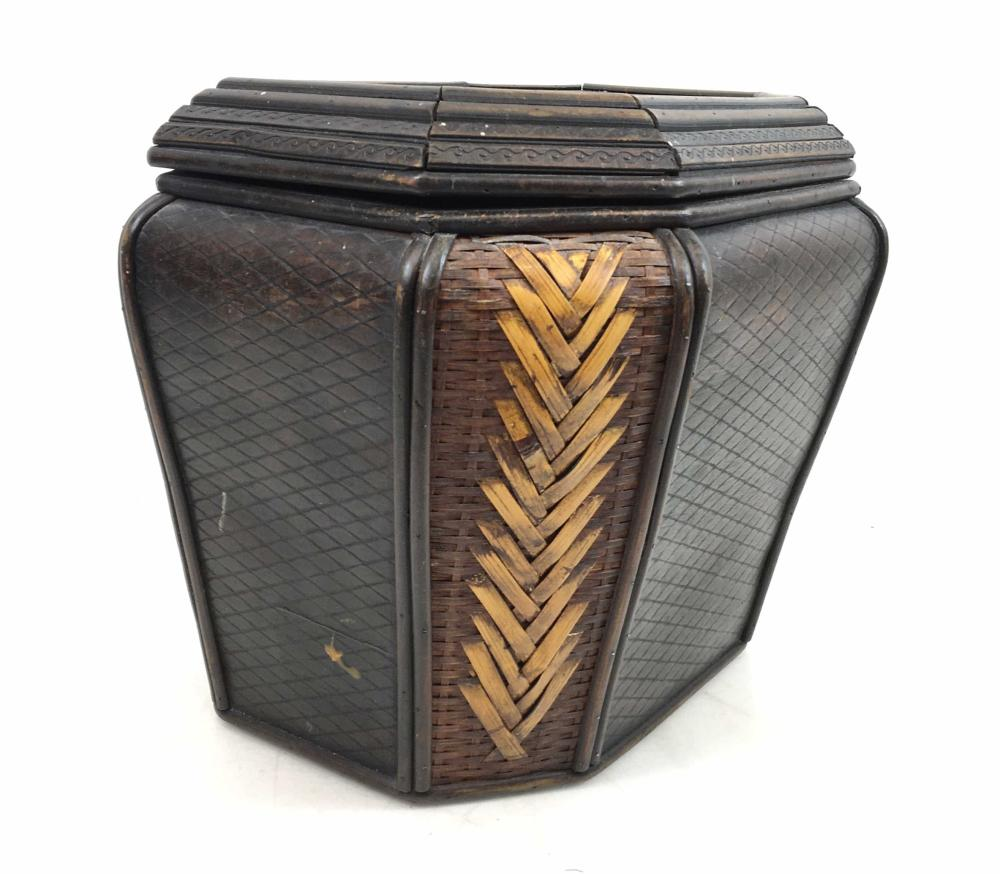 Traditional Decorative Woven Storage Basket
