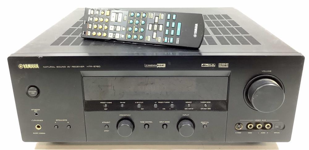 Yamaha Cinema Dsp Natural Sound A/V Receiver