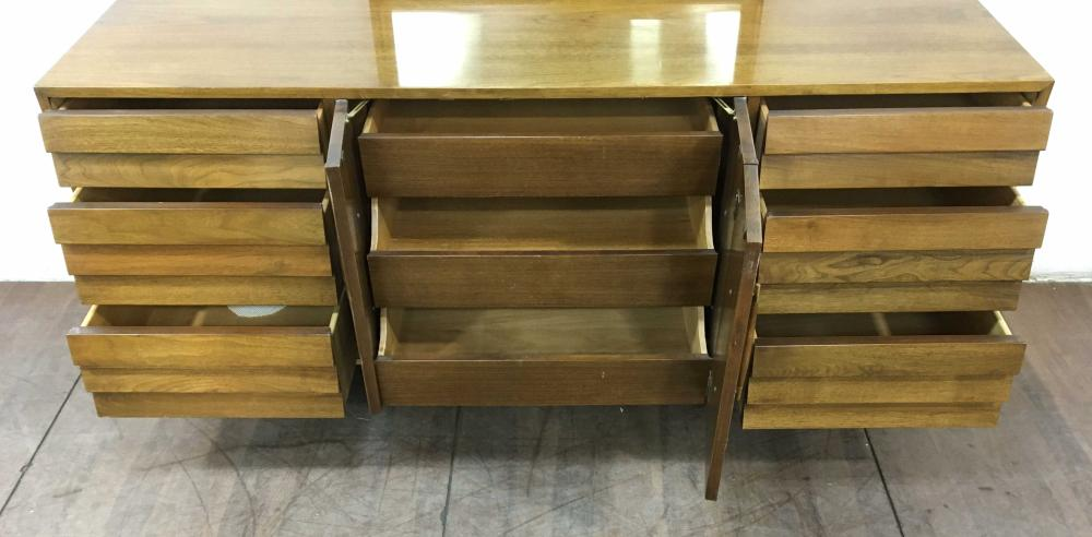 American Of Martinsville Mid Century Triple Dresser