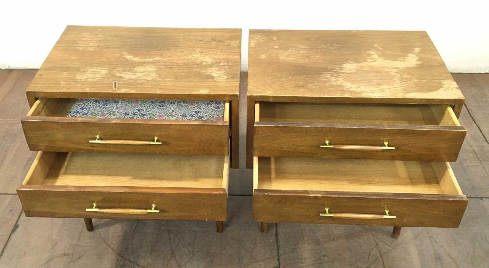 American Of Martinsville Mid Century Nightstands