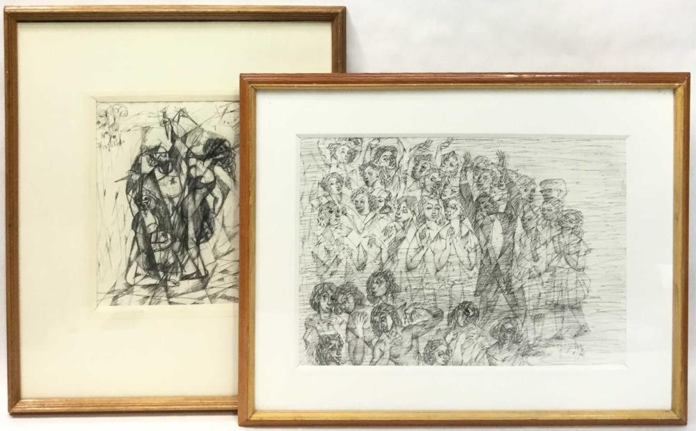 Wladyslaw Brzosko (1912-2011) Original Drawings