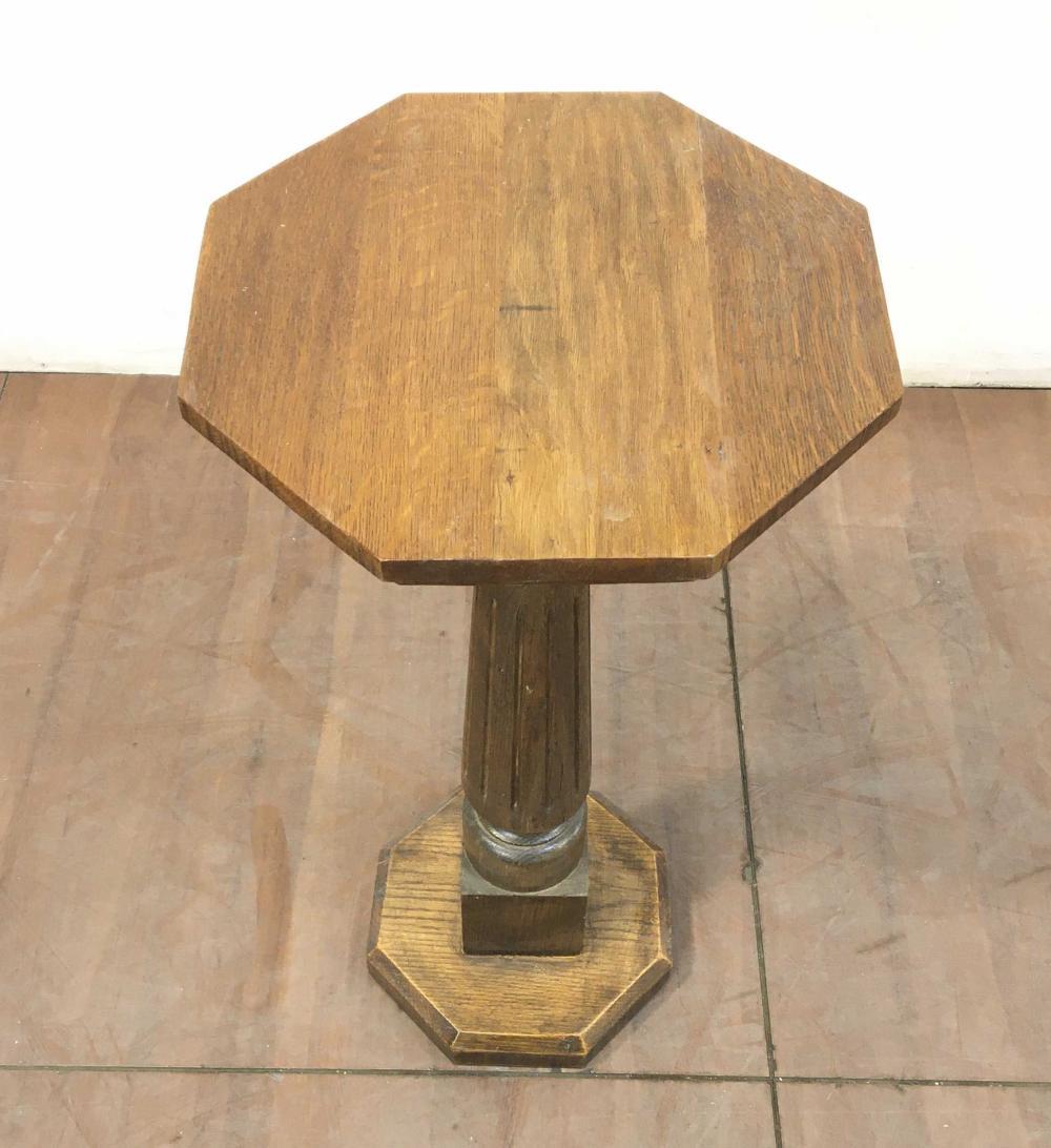 Traditional 32in Oakwood Pedestal