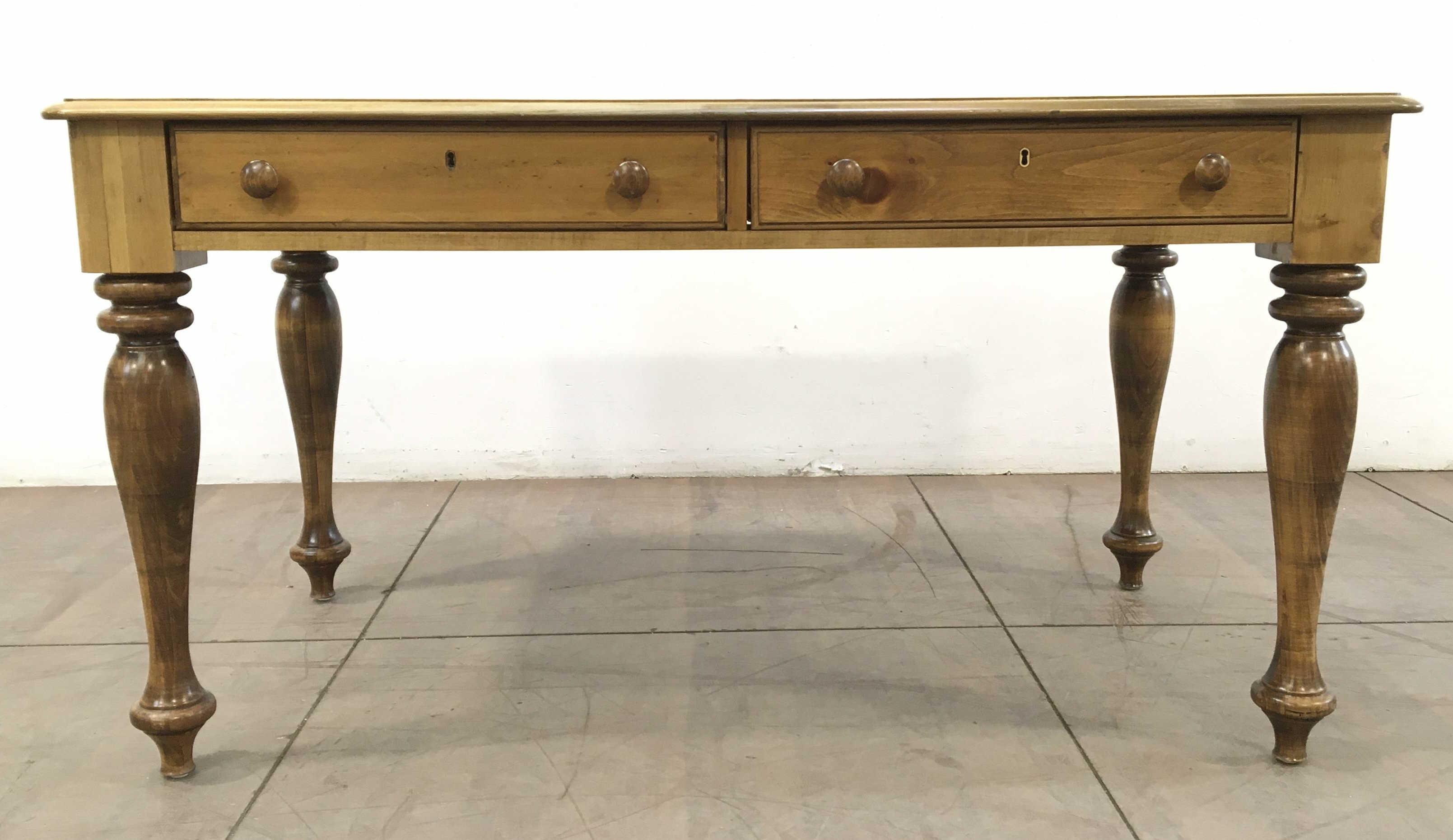Romweber Design By Jim Peed 2 Drawer Writing Table