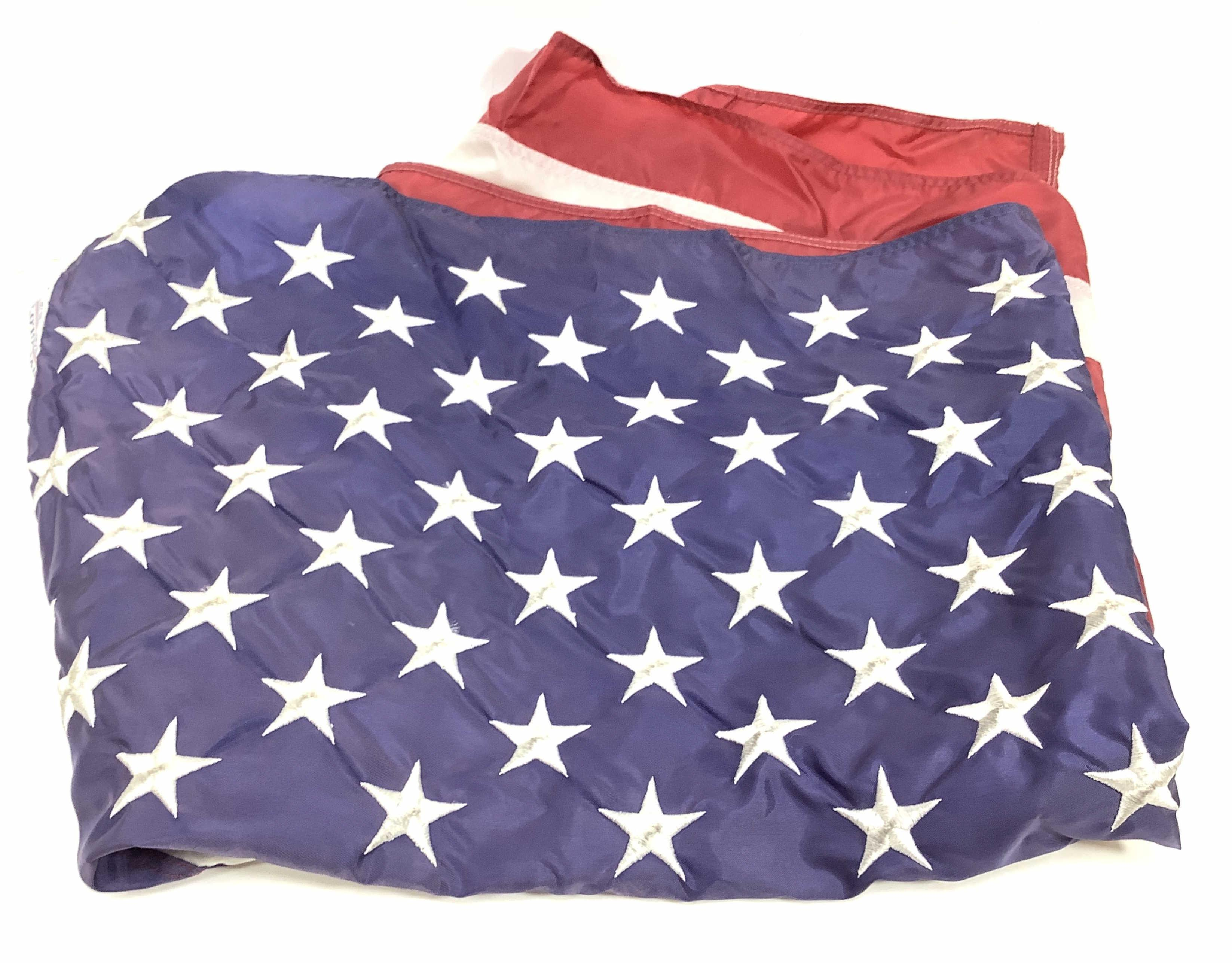 Nyl-Glo 50 Star Stitched Nylon Us Flag