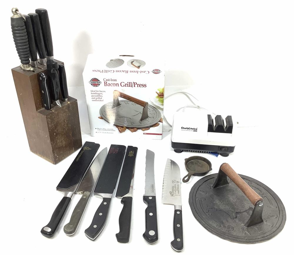 Knives, Henckels, Messermeister Germany, Case