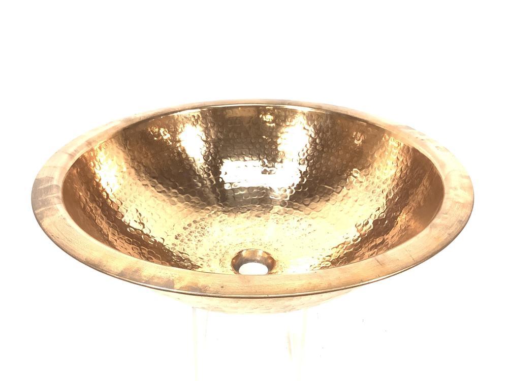 Hand Hammered Copper Sink