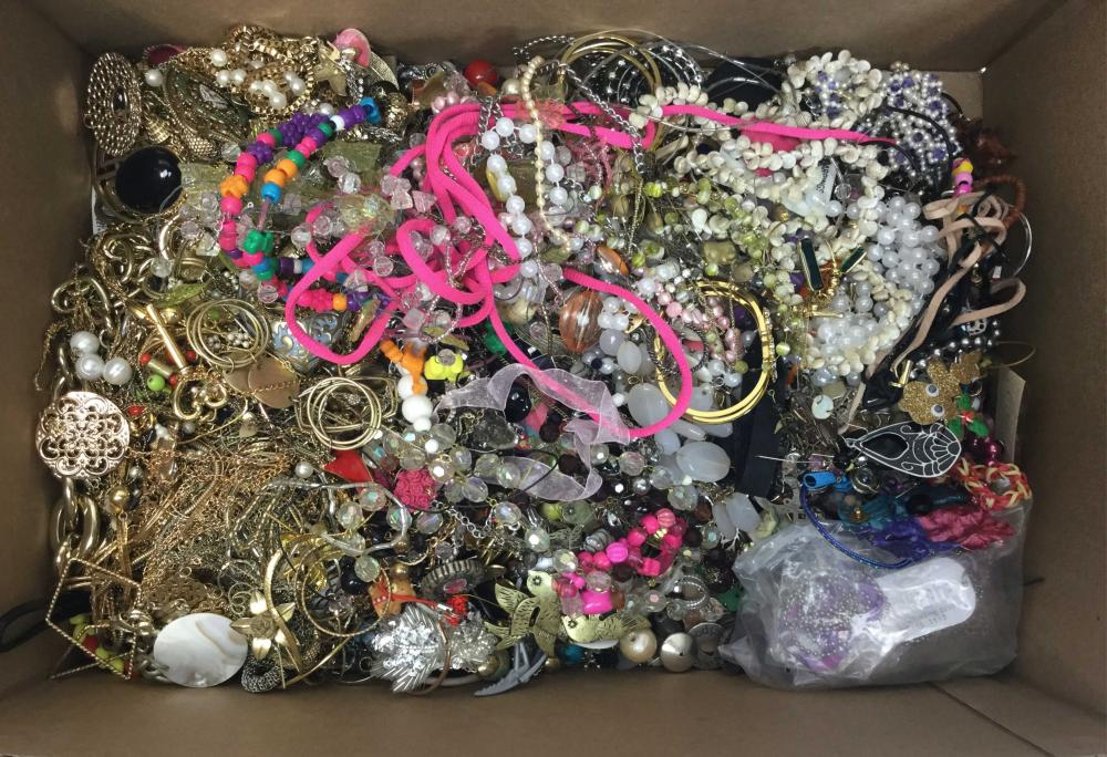 Large Assortment Of Fashion Jewelry, Necklaces