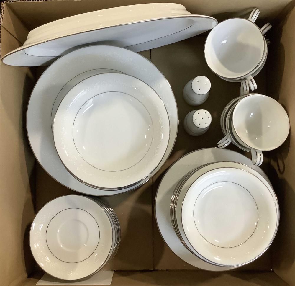 (47pc) Noritake Whitehall & Buckingham China