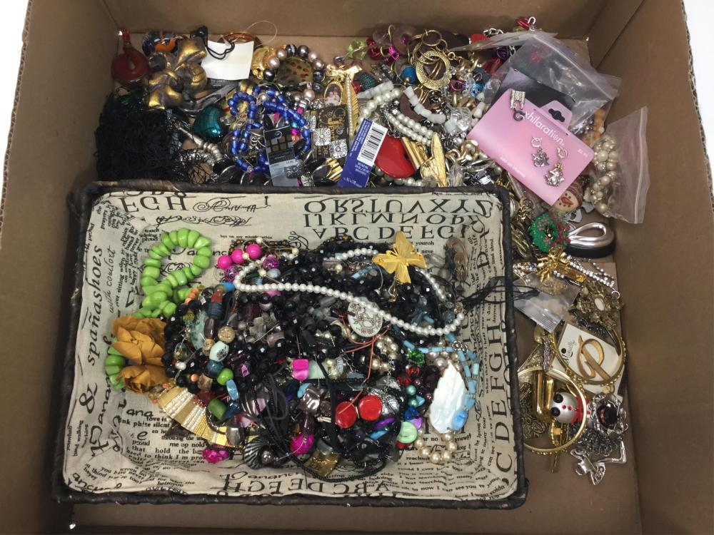 Assorted Fashion Jewelry, Necklaces, Earrings