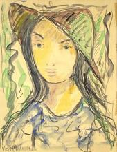 Victor Manuel (1897-1969) Portrait Of Woman