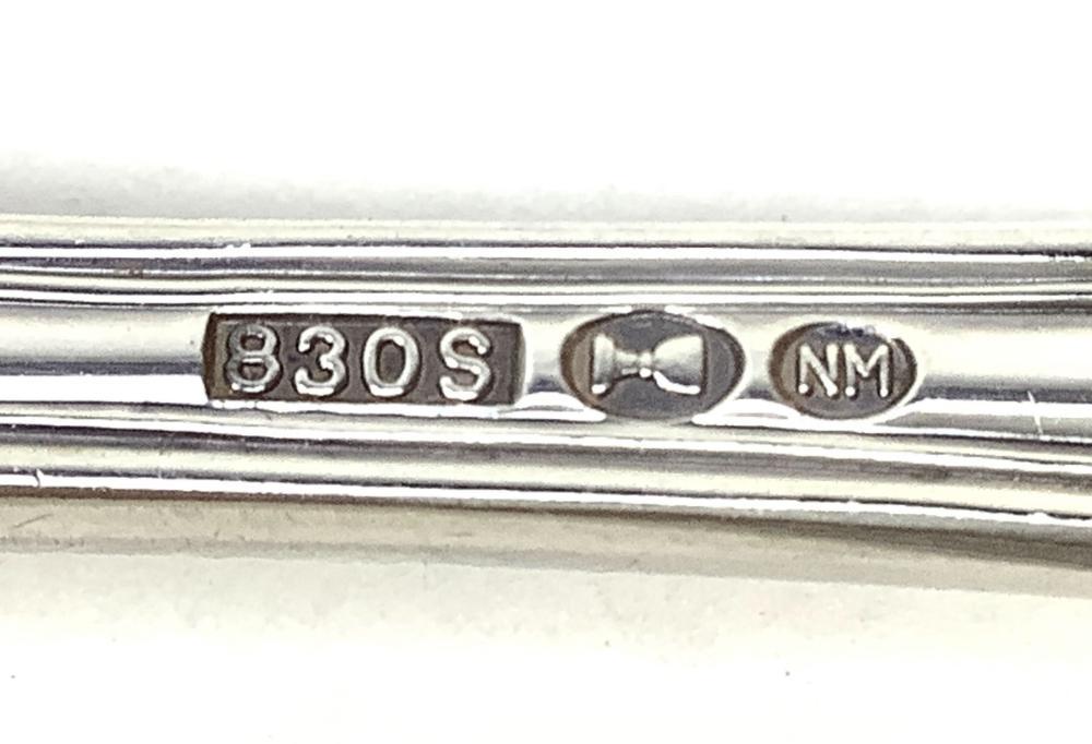 (14) Norway 830 Silver Spoons, 475 Grams
