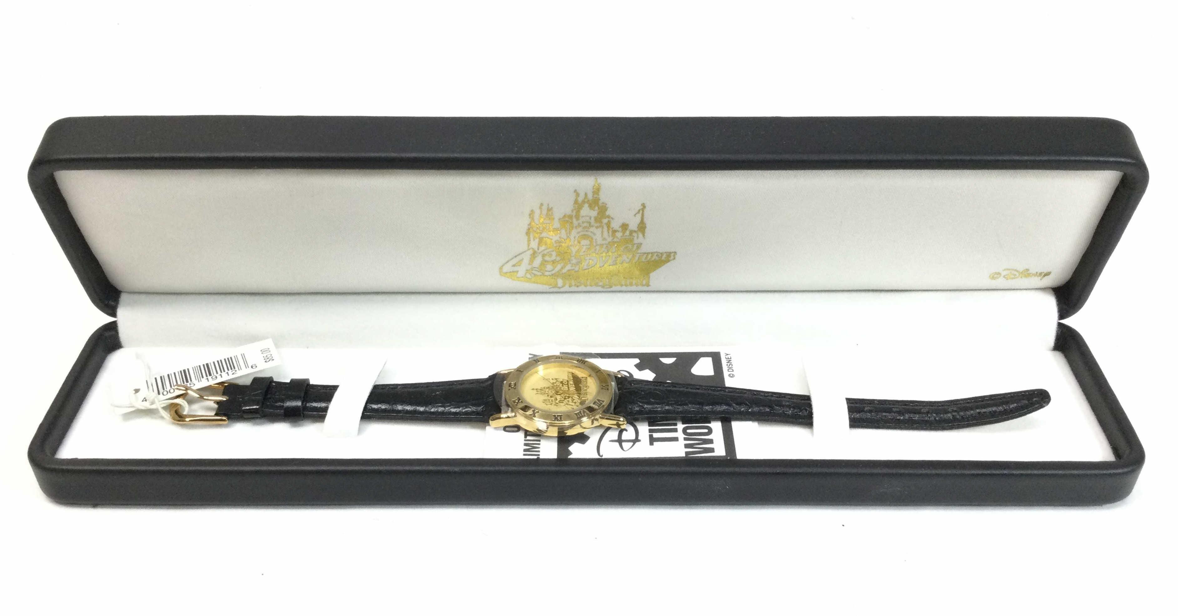 Vintage Disney 40th Anniversary Watch