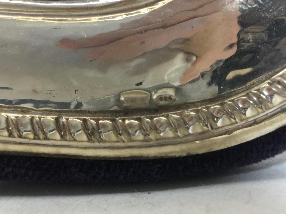 Sterling Silver Frame, Salt & Pepper Shakers, Bowl