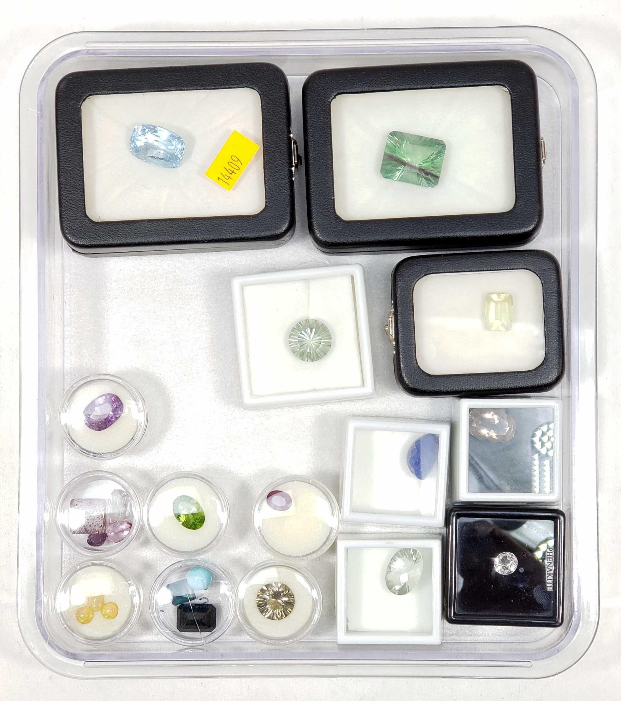 Assorted Semiprecious Gemstones, Amethyst