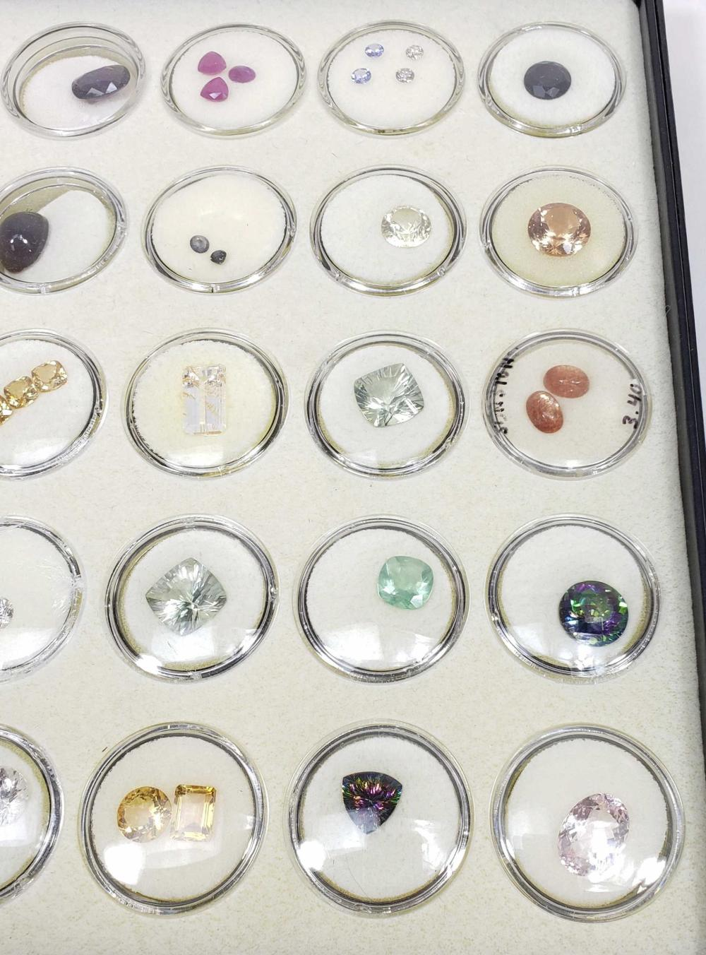 Semiprecious Gemstones, Garnet, Topaz, Rubies