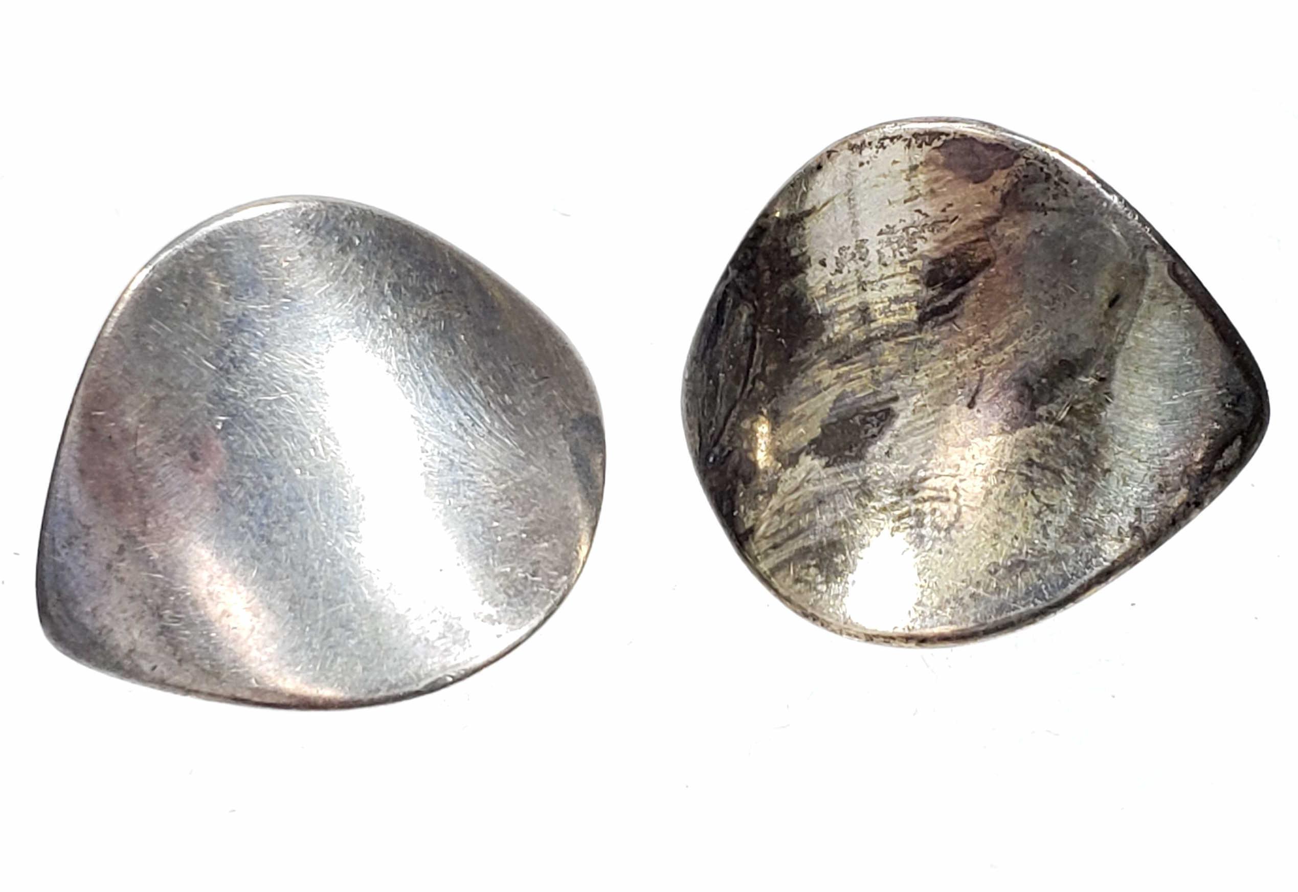 Nanna Ditzel Georg Jensen Sterling Silver Earrings