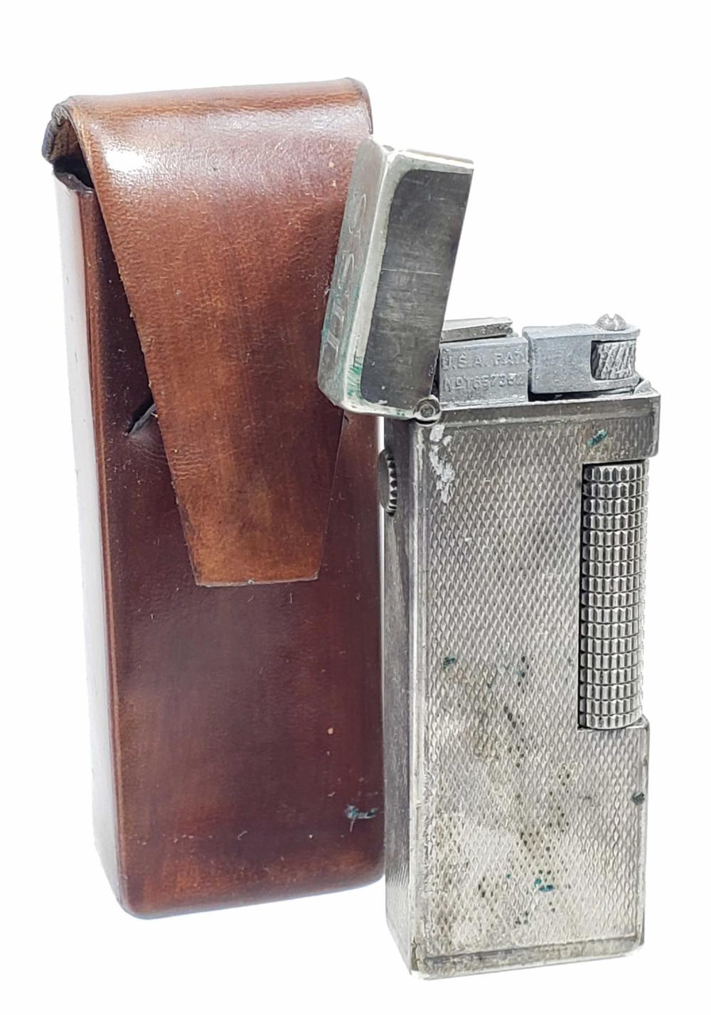 Rollegas Dunhill Lighter & Leather Case Cover