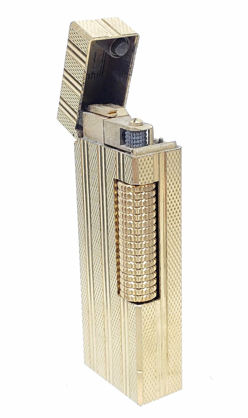 Rollegas Dunhill Gold Plate Lighter & Case Cover