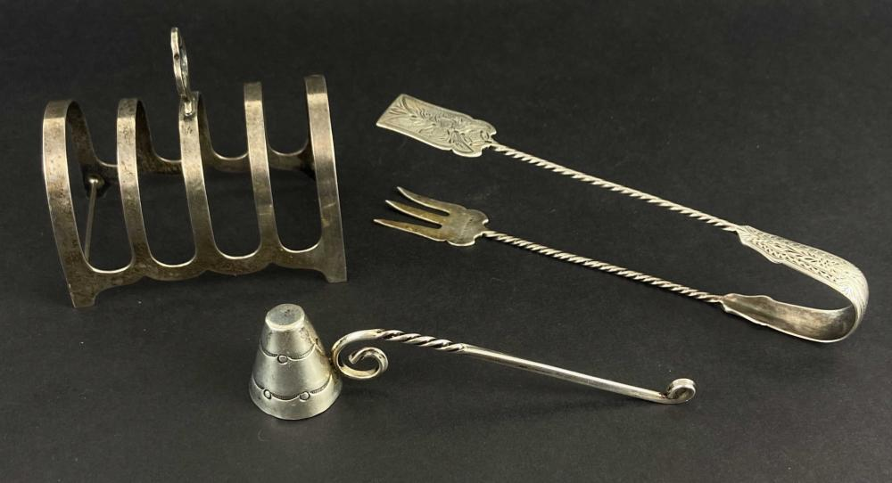 Group Of Antique Sterling Silver Items